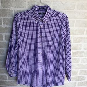 Men's Chaps shirt size 16 32/33 awesome 🌞color